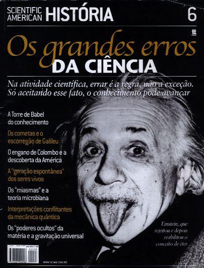 Grandes Erros da Ciência