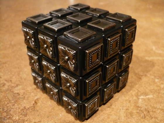 Cubo Mágico para Deficientes Visuais